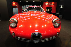 Alfa Romeo Giulietta SZ «Coda Tronca» 1960 Στοκ φωτογραφία με δικαίωμα ελεύθερης χρήσης