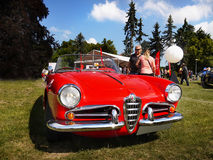 Alfa Romeo Giulietta, Vintage Iconic Cars Stock Image