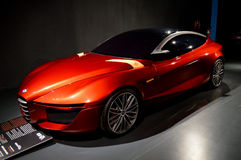 Alfa 2013 Romeo Gloria no automóvel do ` do dell de Nazionale do useo Fotografia de Stock Royalty Free