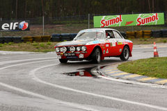 Alfa Romeo GT 2000 durante la reunión Verde Pino 2012 Foto de archivo