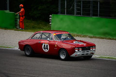 1971 Alfa Romeo 2000 GT Veloce at Monza Stock Images