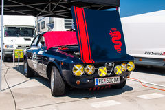 Alfa Romeo GTA racing car Stock Images