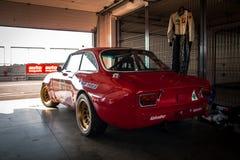 Alfa Romeo GTA-Rennwagen Stockfotos