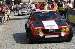 Alfa Romeo GTV6 Fotografie Stock