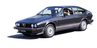 Alfa Romeo GTV Royalty Free Stock Photography
