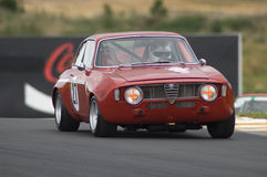 Alfa-Romeo Guilia GTA race car Stock Photography