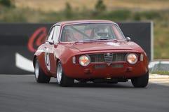 Alfa-Romeo Guilia GTA race car stock photography