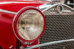 Alfa Romeo Head Light Royalty Free Stock Photography