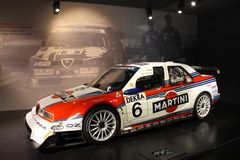 Alfa Romeo Historical Museum - Arese MI Italy Royalty Free Stock Image