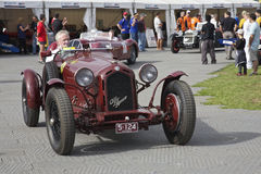 Alfa romeo Lugano - Melbourne Grand Prix, 2010 Royalty Free Stock Photo