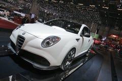 Alfa Romeo Mi.To GTA - de Genebra mostra 2009 de motor Fotos de Stock Royalty Free