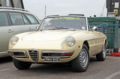 Alfa romeo milano 1750 Royalty Free Stock Photos