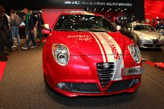 The Alfa Romeo Mito Stock Photos