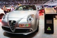 Alfa Romeo MiTo, Motor Show Geneve 2015. Stock Image