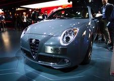 Alfa Romeo Mito nos carros de IAA Fotos de Stock Royalty Free