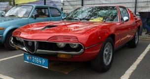 Alfa Romeo Montreal del coche deportivo imagen de archivo libre de regalías
