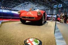 ALFA ROMEO Museo Storico, Motor Show Geneva 2015. Stock Image
