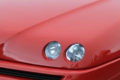 Alfa Romeo pająka początkowy szczegół obrazy stock