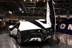 Alfa Romeo Pandion bij de Show van de Motor 2010, Genève Stock Afbeeldingen