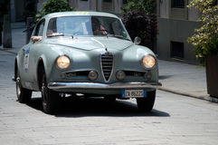 Alfa Romeo 1900 przy Mille Miglia 2016 Obraz Stock