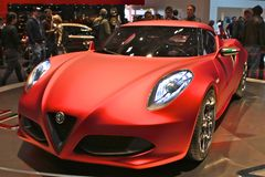 Alfa Romeo R4 Prototype Stock Photography