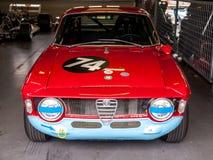 Alfa Romeo racing car Stock Photo