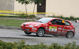 Alfa Romeo 147 rally Royalty Free Stock Photo