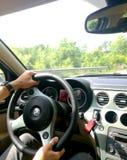 Alfa Romeo ride Stock Photography