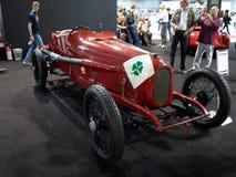 Alfa Romeo RL Targa Florio in Milaan Autoclassica 2014 Stock Fotografie