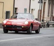Alfa romeo spaider Stock Photo