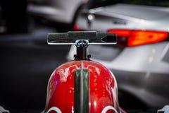 Alfa Romeo Sauber Formula 1 carro fotografia de stock royalty free