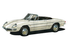 Alfa Romeo Spider Royalty Free Stock Image