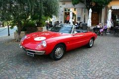 Alfa Romeo Spider Fotografía de archivo libre de regalías