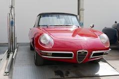 Alfa Romeo Spider Duetto dwa drzwi terenówka w Lima Fotografia Royalty Free