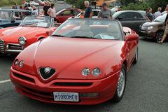 Alfa romeo spider front view Stock Image