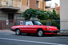 Alfa Romeo Spider Stock Images