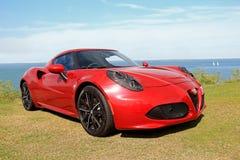 Alfa romeo sports car Stock Photography