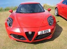 Alfa romeo sports car Stock Image