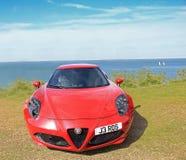 Alfa romeo sportscar Stock Images