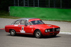 1964 Alfa Romeo 2600 Sprint at Monza Stock Photography