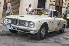 Alfa  romeo sprint 2600 on the road Royalty Free Stock Image