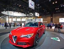 2019 Alfa Romeo Stelvio fotografia royalty free
