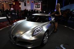 Alfa Romeo su 64rd IAA Fotografia Stock Libera da Diritti