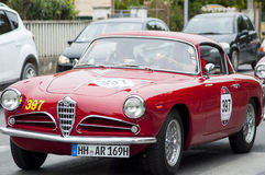 Alfa Romeo1900 Super Sprint Touring1956 Royalty Free Stock Photography