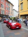 Alfa Romeo SZ bei Mille Miglia 2015 Lizenzfreies Stockbild