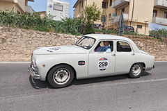 Alfa Romeo 1900 TI berlina (1954) in Mille Miglia 2014 Royalty Free Stock Images