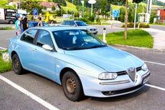 Alfa Romeo 156 royalty free stock photos