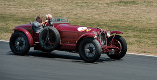 36 Alfa Romeo van Enzo Ferrari ' Royalty-vrije Stock Afbeeldingen