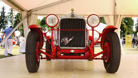 Alfa Romeo, Vintage Automobiles. Vintage sports racing car - Alfa Romeo C6, 1929. Sports cars, Motor Show - Legends Prague 2017 Royalty Free Stock Photography