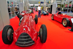 Alfa Romeo vintage race car Stock Photo